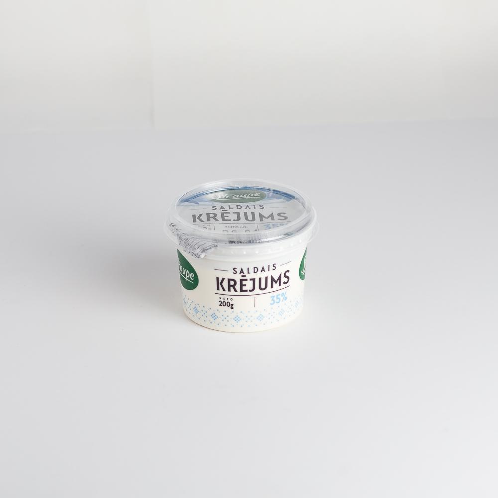 Krējums Saldais 35% 200g Straupe