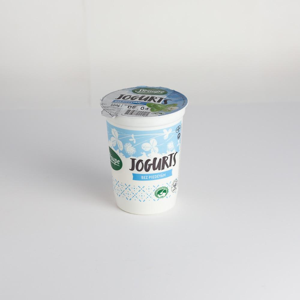 Jogurts Bezpiedevu 2.5% 500g Straupe