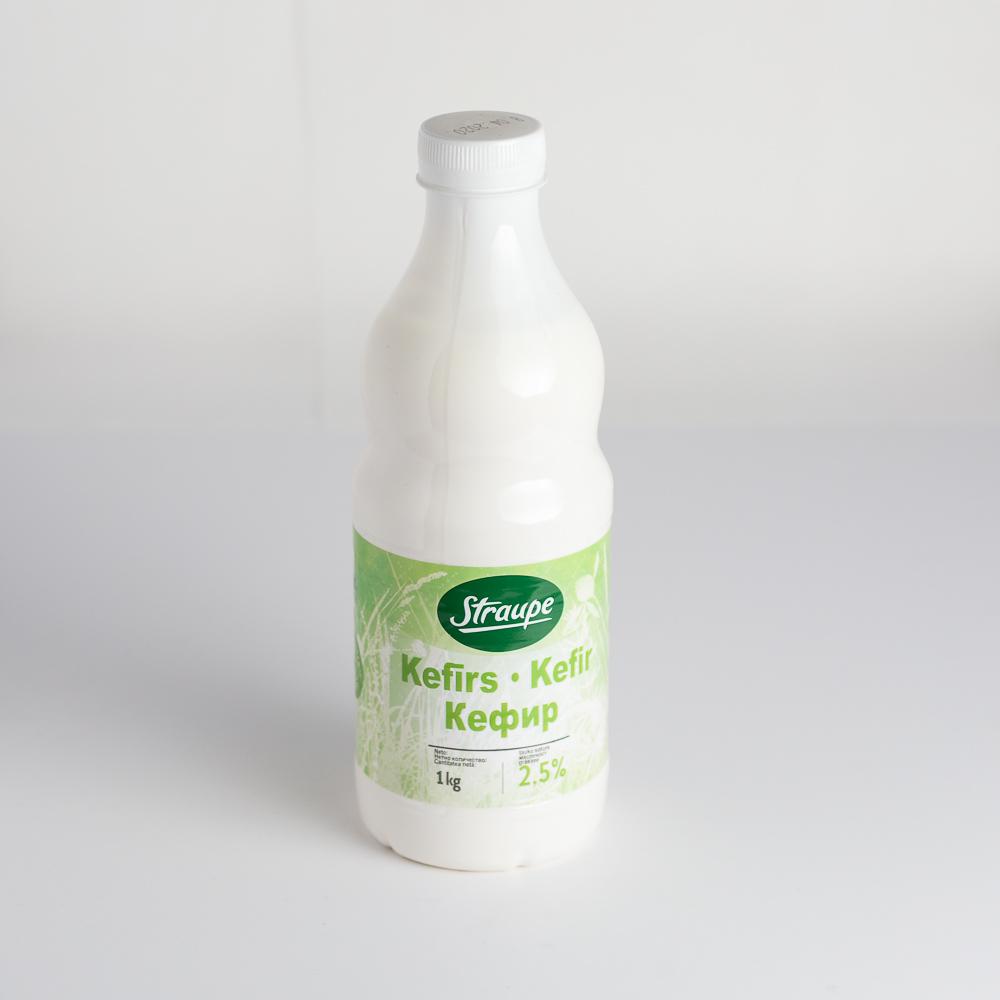 Kefīrs 2.5% 1L Straupe