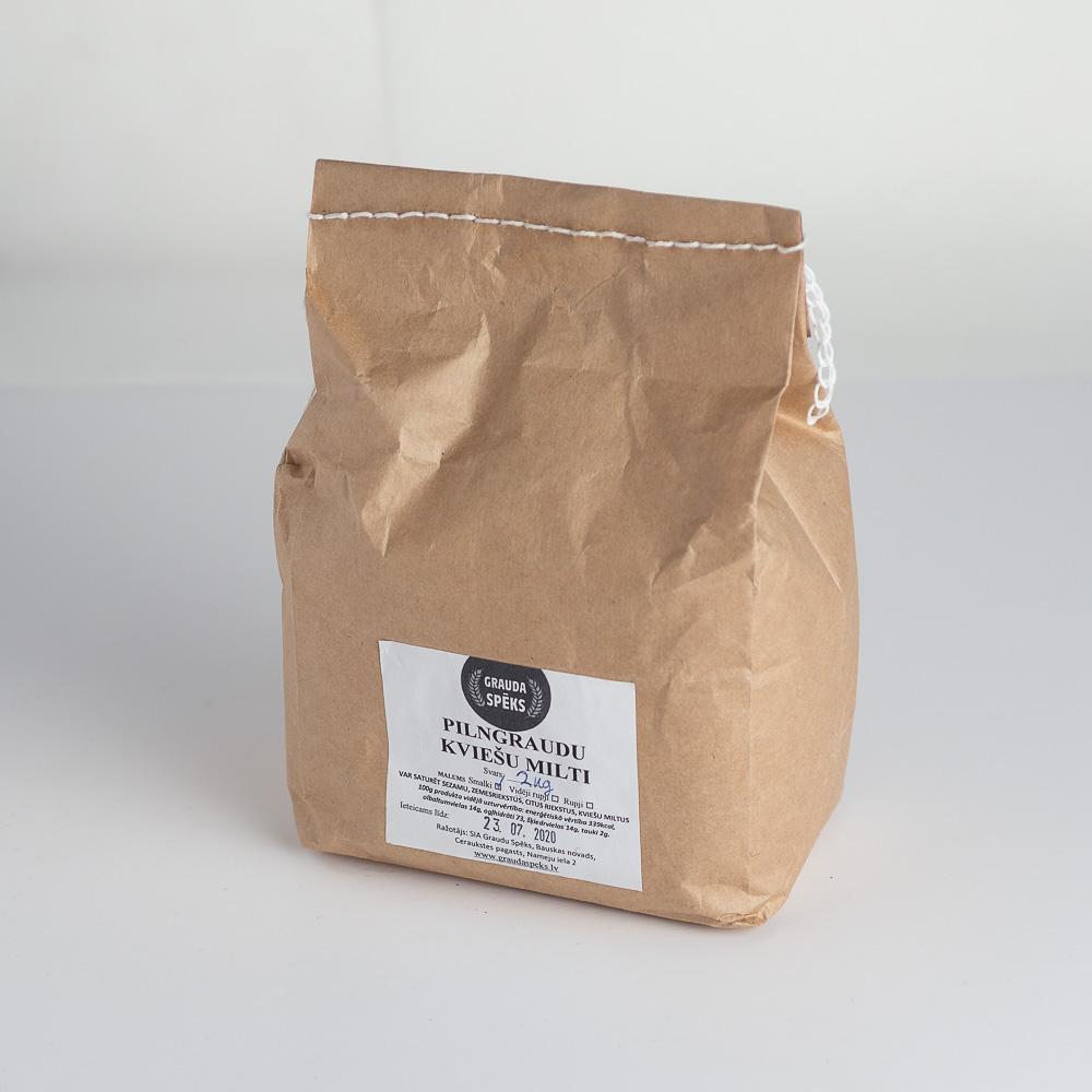 Pilngraudu kviešu milti smaki 1kg