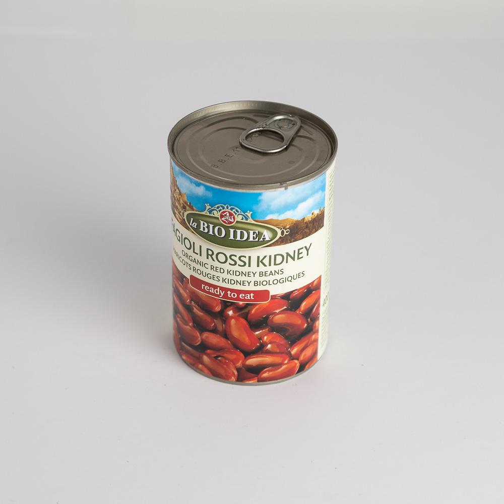 BIO Sarkanās pupiņas konservētas 400g