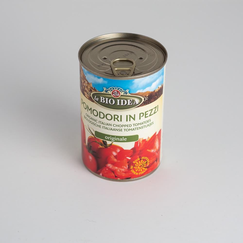 BIO Smalcināti tomāti konsrvēti 400g