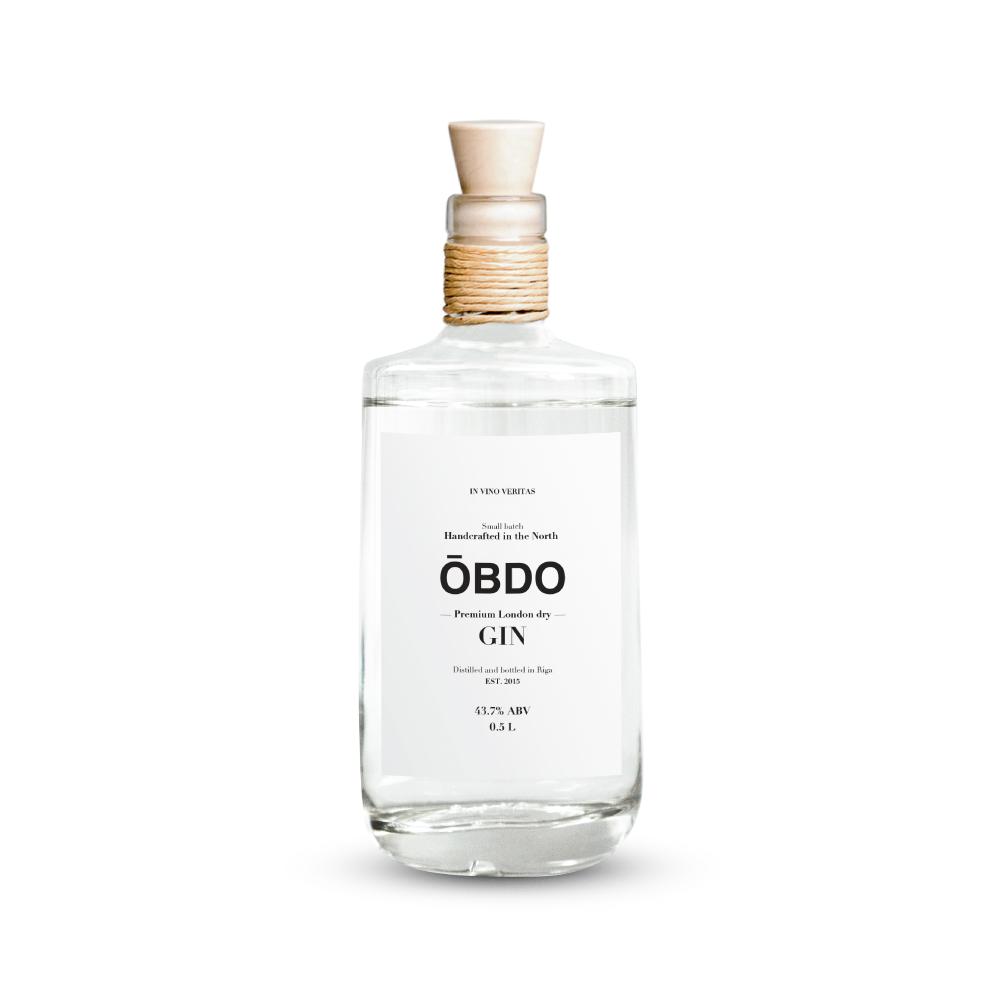 """Džins """"OBDO"""" 43.7% 500ml"""